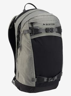 73d0b96f1ef45 Burton Day Hiker Pro 28L Backpack shown in Shade Heather