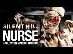 Silent Hill Nurse Mask Tutorial - YouTube