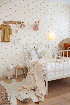 Sneak peek: the first images of the new toddler room - s .-Sneak peek: de eerste beelden van de nieuwe peuterkamer — sevencouches Sneak peek: the first images of the new toddler room - Kids Bedroom Designs, Farmhouse Bedroom Decor, Little Girl Rooms, Nursery Room, Nursery Ideas, Nursery Decor, Girls Bedroom, Ikea Childrens Bedroom, Kids Room