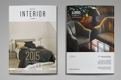 A4 & US Letter Interior Magazine by thirtypath on @creativemarket