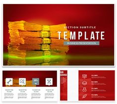 Bank notes of money PowerPoint templates