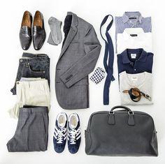 GQ: 48-hour wardrobe