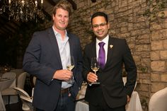 Johann de Wet of #DeWetshof and Miguel Chan Tsogo Sun Group Sommelier presented the evening #ThePalazzo #Montecasino #Tsogosun #Robertson #Chardonnay #SouthAfrica