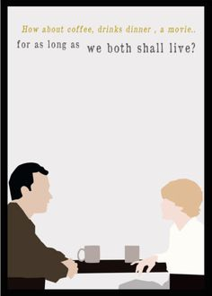 You've Got Mail (1998) ~ Movie Quote Poster by YouveGotPrint #amusementphile