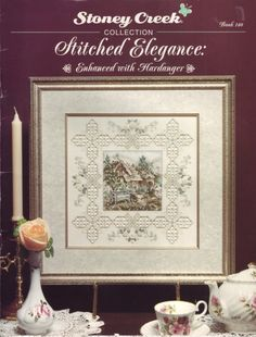 Stitched Elegance:  Enhanced with Hardanger by by XedStitches