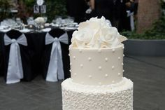Cake in your colors... try Oak Mill Bakery in Chicago