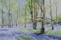 Where The Bluebells Grow  Fine Art Print by OliverPyleFineArt
