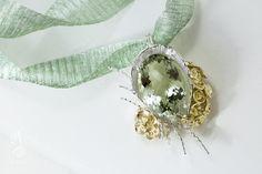 莫內水晶花園項鍊