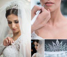 Making of da noiva | Make da noiva | Maquiagem de noiva | Maquiagem para noiva | Bride | Noiva | Bride's Make Up | Inesquecível Casamento | Penteado de noiva | Véu e grinalda