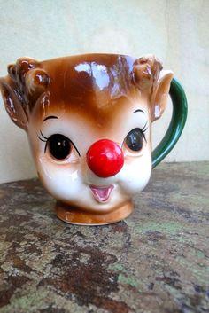Lefton Rudolph Mug ~ got to find one
