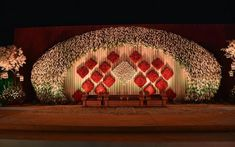 Wedding Hall Decorations, Marriage Decoration, Backdrop Decorations, Flower Decorations, Backdrops, Reception Stage Decor, Wedding Reception Backdrop, Wedding Entrance, Indian Wedding Stage