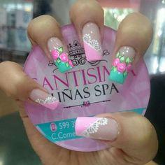 Nail Designs 2017, Cool Nail Designs, Fabulous Nails, Gorgeous Nails, Painted Nail Art, Luxury Nails, French Tip Nails, Finger, Stylish Nails