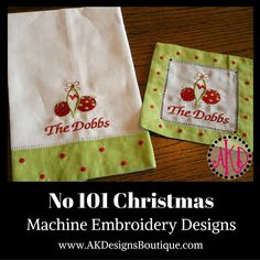 101 Christmas Machine Embroidery Designs
