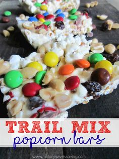 These Trail Mix Popc