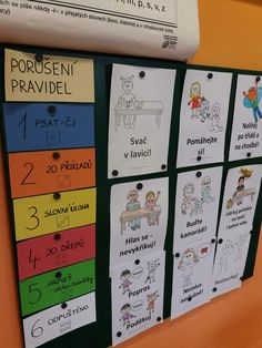 Třídní pravidla – ZŠ Ruská 2059 - fotogalerie – album na Rajčeti Ways Of Learning, Kids Learning, Activities For Kids, Crafts For Kids, Class Rules, Halloween Doodle, Montessori Education, Teaching Tips, My Teacher
