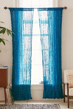 Magical Thinking Crinkle Gauze Curtain