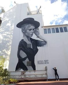src in Torremolinos, Spain, 2019 Brigitte Bardot, Street Art Banksy, Graffiti Artwork, Street Painting, Best Street Art, Art Graphique, Instagram Images, Instagram Posts, Street Artists