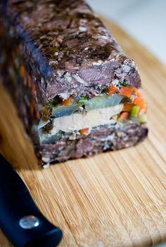 oxtail foie gras terrine
