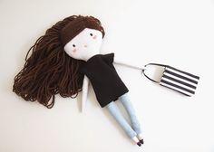 P L O U D O L L   handmade cloth dolls   muñecas de tela hechas a mano