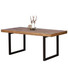 Standford Industrial Reclaimed Wood Dining Table (fixed top) - Esstisch Antique Dining Tables, Reclaimed Wood Dining Table, Industrial Dining, Dining Table Legs, Reclaimed Wood Furniture, Wood Table, Industrial Furniture, Round Dining, Unique Furniture