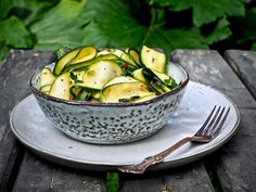 Greens Recipe, Summer Recipes, Gluten Free Recipes, Food Inspiration, Potato Salad, Cucumber, Food And Drink, Keto, Vegetables