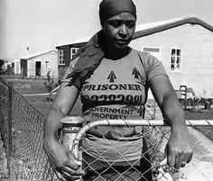 The real Hero of South Africa, Winnie Mandela.