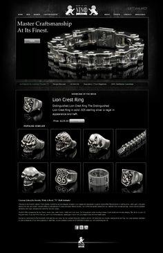 Nino925 Custom Jeweler - New Home page for Magento eCommerce site