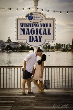 Walt Disney World FL - Engagement Portrait Session ~ Aunesty Reikofski Photography