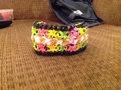 Hardest rainbow loom bracelet!!! wow that's a really big 1 2!!!
