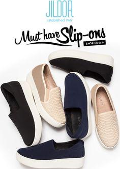 JACKIE and JIBBIE J/Slide slip-on sneakers