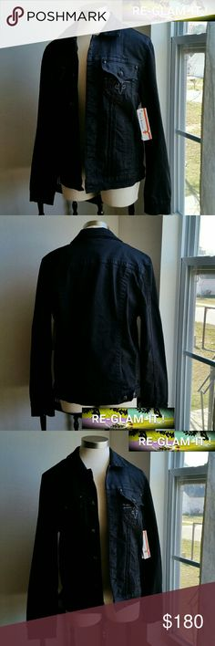 ROCK REVIVAL.NEW LISTING.MEN'S BLACK JEAN JACKET ..ADDING INFO SOON..EXCELLENT CONDITION  ..BRAND NEW...NWT...NO FLAWS ..COLOR...BLACK  ..BLACK JEAN ...JACKET STYLE.. ..A MUST HAVEEEEE. ..ROCK REVIVAL..STYLE THROUGHOUT  ..BUTTONS DESIGN FRONT ..POCKETS DESIGN  ..SIDE POCKETS.. Rock Revival Jackets & Coats