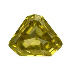 0.44 ctw Canary Yellow Unique Fancy Shape VVS1 Clarity Loose Natural Diamond #Diamondzul #FancyyellowshapeDiamonds #Diamonds #LooseDiamonds