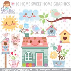 Hey, I found this really awesome Etsy listing at https://www.etsy.com/listing/456598226/home-clipart-home-graphics-commercial