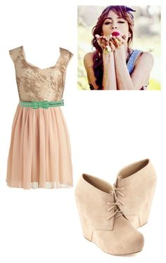 """""""Violetta"""" by bluechrysalis ❤ liked on Polyvore featuring Ryu, Charlotte Russe, Hope, women's clothing, women, female, woman, misses and juniors"""