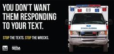 Sobering PSA... don't text and drive!!!