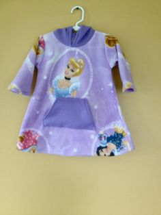 Disney Princesses Hoodie Dress by myfunclothes on Etsy, $28.00