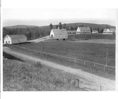 Pittston Farm - no longer houses loggers and horses. It is privately owned and open to the public for a good meal in the middle of nowhere.