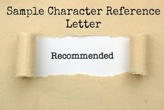 Sample character reference letter to customize for your own use. Easy -to-use personal character reference samples. Teacher Jobs, Teacher Interviews, Jobs For Teachers, Job Interviews, Sample Character Reference Letter, Reference Letter Template, Letter Templates, List Of Strengths, Core Competencies
