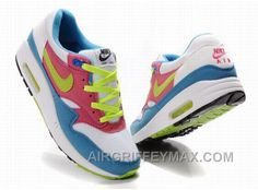 http://www.airgriffeymax.com/womens-nike-air-max-87-shoes-white-blue-red-green-cheap.html WOMEN'S NIKE AIR MAX 87 SHOES WHITE/BLUE/RED/GREEN CHEAP Only $94.83 , Free Shipping!
