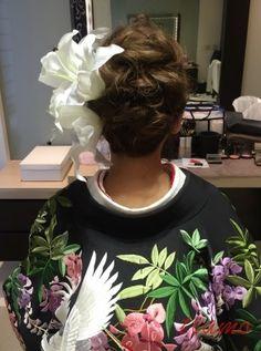 ドレスから色打掛へと大変身♪幸せホテル婚の一日 |大人可愛いブライダルヘアメイク『tiamo』の結婚カタログ