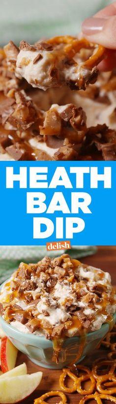 Heath Bar Dip