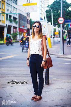 No dia a dia, dê uma chance ao mocassim! | 35 ideias para criar looks estilosos sem usar salto