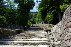 Japanese castles I've visited: #6 Azuchi Castle Ruins in Shiga Prefecture. Only ruins are left, but some of the most extensive ruins I've seen. If you're in Shiga or a fan of Oda Nobunaga, then it's worth a visit!
