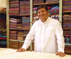Maestro del textil y promotor cultural.            Nacido en la Sierra de O