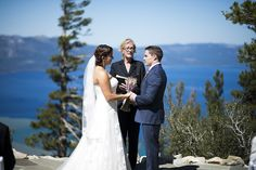 Lake Tahoe Ceremony Venue at Blue Sky Terrace, Heavenly Resort, CA, #mountainweddings, Photo by Vernon Wiley Photography, www.wileyphoto.com, http://www.iconicweddings.com/Destinations/Heavenly.aspx