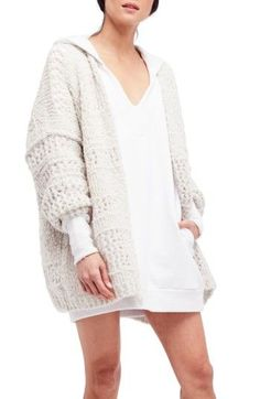Free shipping and returns on Free People Saturday Morning Cardigan at Nordstrom.com. Elevate your cozy-chic style game with a chunky knit cardigan featuring an oversized, drop-shoulder silhouette.
