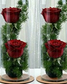Love for Christmas – Flowers Desing Ideas Christmas Centerpieces, Floral Centerpieces, Wedding Centerpieces, Wedding Decorations, Christmas Decorations, Centrepieces, Decor Wedding, Decoration Evenementielle, Flower Decorations