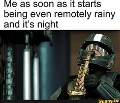 Me as soon as it starts being even remotely rainy and it's night – popular memes on the site iFunny. Funny Gaming Memes, Gamer Humor, Stupid Funny Memes, Funny Games, You Funny, Hilarious, Funny Stuff, Funny Things, Best Memes