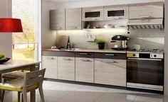 Moderne Landhaus Küchenzeile im Vintage Stil