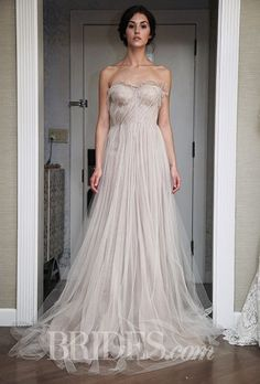 Brides: Samuelle Couture Wedding Dresses Fall 2015 Bridal Runway Shows Brides.com | Wedding Dresses Style